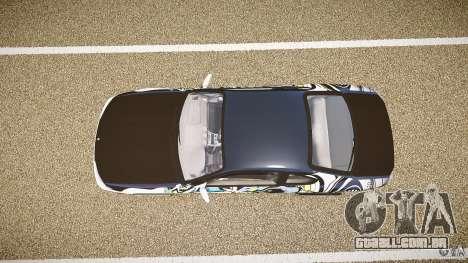 Nissan Silvia S15 Drift v1.1 para GTA 4 vista de volta