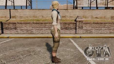 Sherry Birkin para GTA 4 segundo screenshot