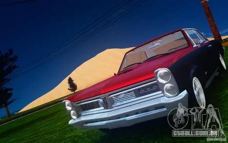Pontiac GTO 1965 FINAL para GTA 4 interior