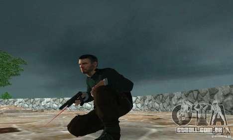 SAM FISHER para GTA San Andreas segunda tela