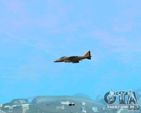 Cluster Bomber para GTA San Andreas terceira tela