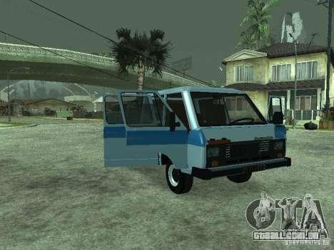 RAPH 3311 Pickup para GTA San Andreas esquerda vista