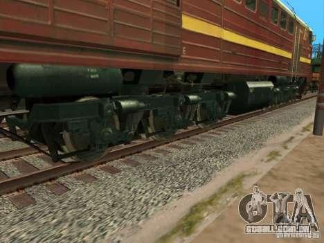 2te10u-0211 para GTA San Andreas vista traseira