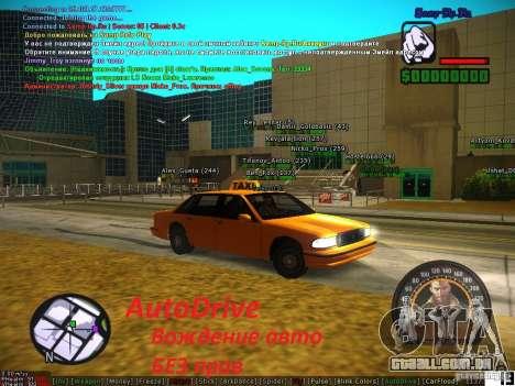 Sobeit for CM v0.6 para GTA San Andreas segunda tela