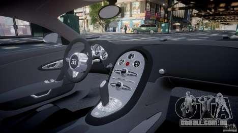 Bugatti Veyron 16.4 v1.0 new skin para GTA 4 vista superior