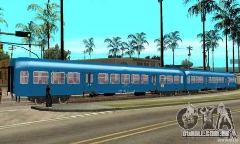 Carro 21-47 CFR para GTA San Andreas traseira esquerda vista