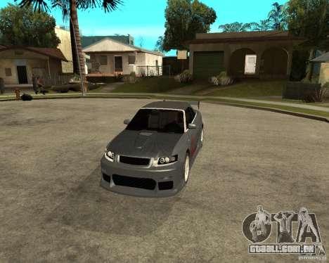 AUDI A4 Cabriolet para GTA San Andreas