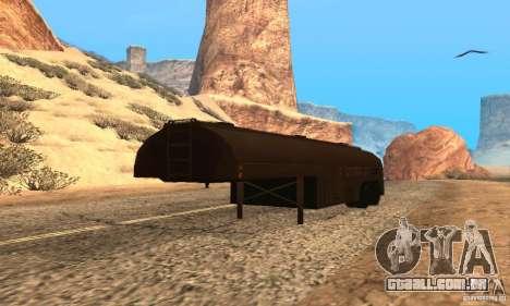 Reboque duelo Peterbilt para GTA San Andreas
