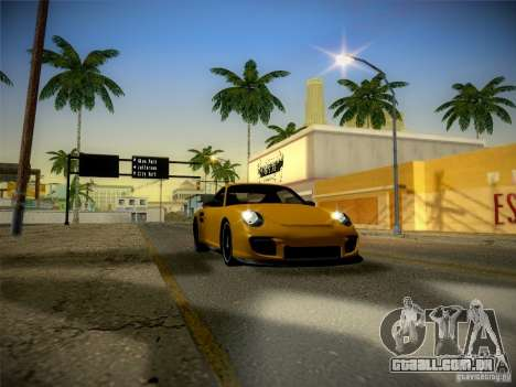Porsche 997 GT2 para GTA San Andreas vista interior