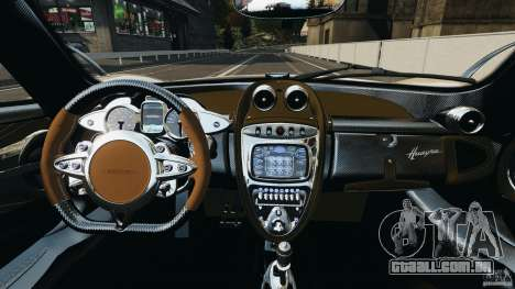 Pagani Huayra 2011 v1.0 [EPM] para GTA 4 vista de volta