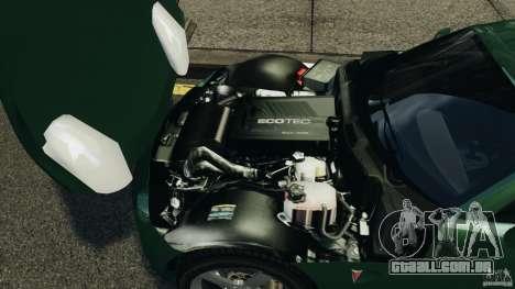 Pontiac Solstice 2009 para GTA 4 vista de volta