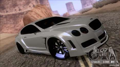 Bentley Continental GT Premier 2008 V2.0 para as rodas de GTA San Andreas