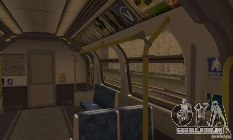 London Metro para GTA San Andreas vista direita