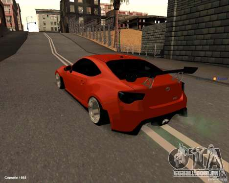 Scion FR13 para GTA San Andreas esquerda vista