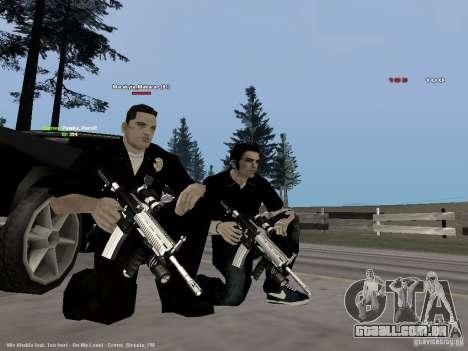 Black & White guns para GTA San Andreas