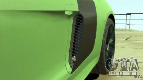 Audi R8 5.2 FSI quattro v1 para GTA 4 vista superior