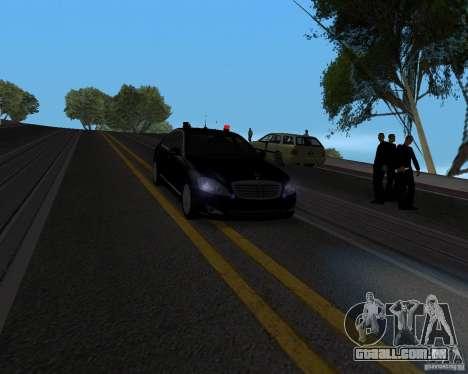 Emergency Lights para GTA San Andreas segunda tela