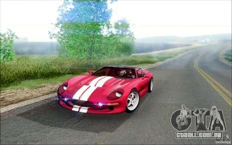 Shelby Series 1 1999 para GTA San Andreas esquerda vista