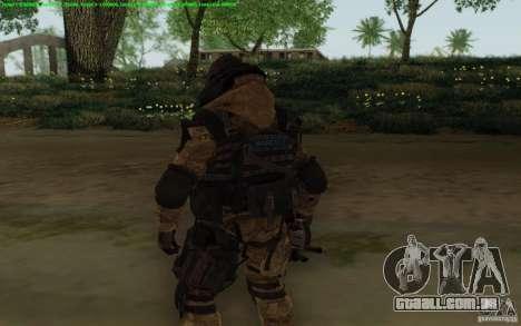 Warface sniper para GTA San Andreas terceira tela