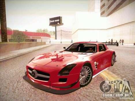 Mercedes-Benz SLS AMG GT-R para GTA San Andreas esquerda vista