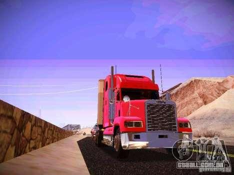 Freightliner FLD 120 para GTA San Andreas vista traseira