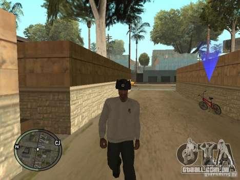 Ushanka para GTA San Andreas terceira tela