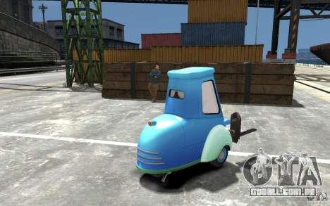 Guido de carros Mater-National para GTA 4 vista direita