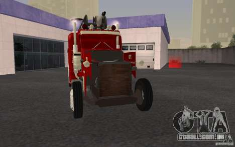 Peterbilt 379 Fire Truck ver.1.0 para GTA San Andreas vista inferior
