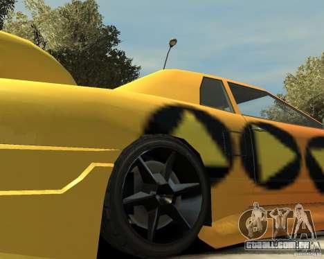 Elegy Tuning para GTA 4 vista de volta