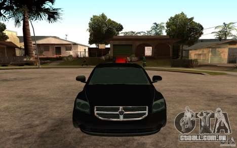 Dodge Caliber para GTA San Andreas vista direita