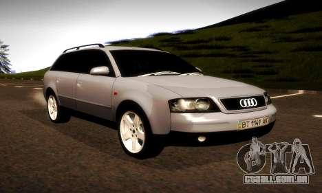 Audi A6 C5 Avant 3.0 para GTA San Andreas