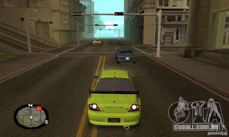 Corrida de rua para GTA San Andreas nono tela