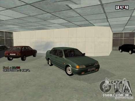 VAZ 2115 dreno para GTA San Andreas