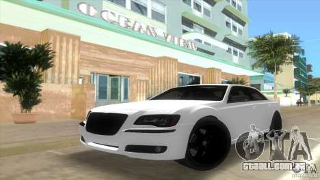 Chrysler 300C SRT V10 TT Black Revel 2011 para GTA Vice City