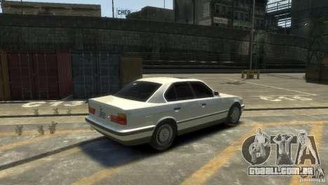 BMW 525i para GTA 4 vista direita