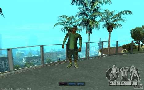 Crime Life Skin Pack para GTA San Andreas oitavo tela