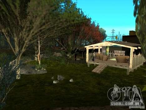 New Grove Street TADO edition para GTA San Andreas nono tela