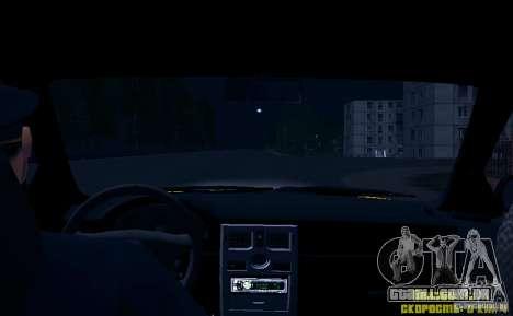 LADA Priora 2170 táxi TMK Afterburner para GTA San Andreas interior