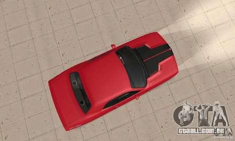Dodge Challenger 2007 para GTA San Andreas vista direita