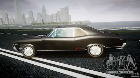 Chevrolet Nova 1969 para GTA 4 esquerda vista