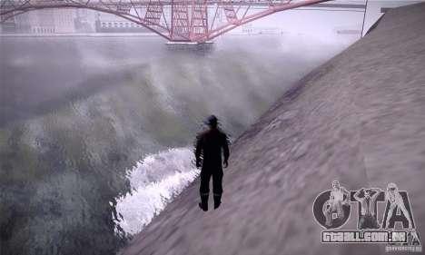 ENB By SilveR v1.0 para GTA San Andreas por diante tela