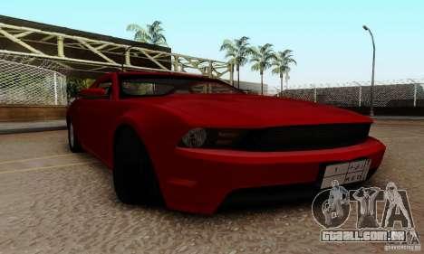 Ford Mustang 2010 para GTA San Andreas vista interior