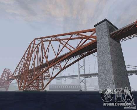Novas texturas de três pontes em SF para GTA San Andreas quinto tela
