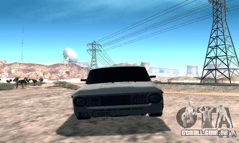 VAZ 2101 Sport para GTA San Andreas vista traseira