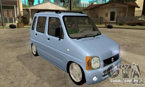 Suzuki Karimun GX para GTA San Andreas vista traseira