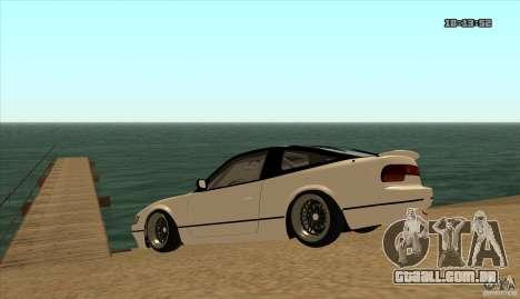 Nissan Sil180 JDM para GTA San Andreas vista direita