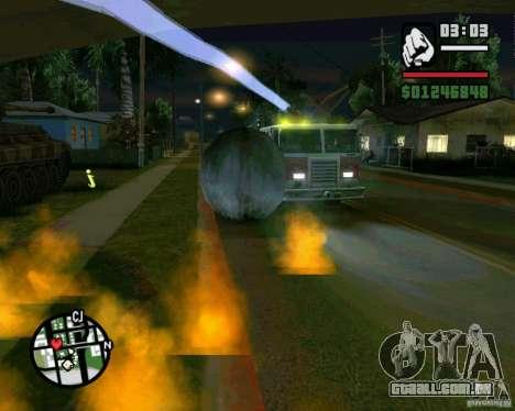 Wrecking ball para GTA San Andreas sétima tela