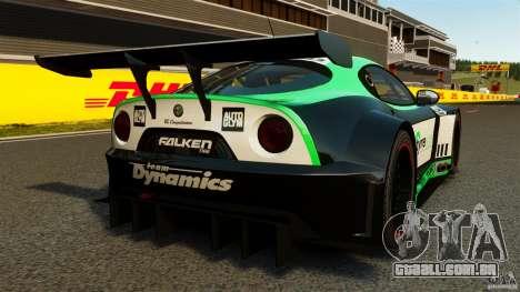 Alfa Romeo 8C Competizione Body Kit 2 para GTA 4 traseira esquerda vista