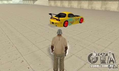 Capacidade sobrenatural de CJ-eu para GTA San Andreas segunda tela
