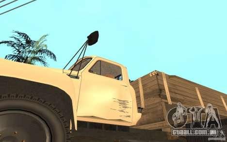 Gaz-52 para GTA San Andreas vista superior